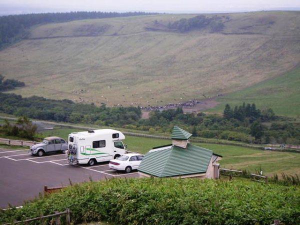 ナッツRVのキャンピングカー、クレソンで北海道