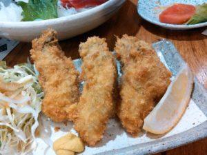 北海の牡蠣フライ