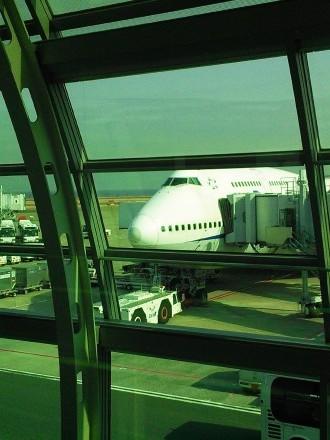 b747-400 Haneda Airport Domestic Terminal