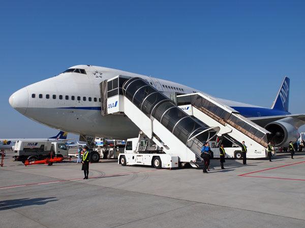 ANA B747-400退役記念ツアー 成田空港