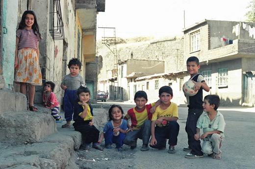 トルコ東部の子供たち_1991年