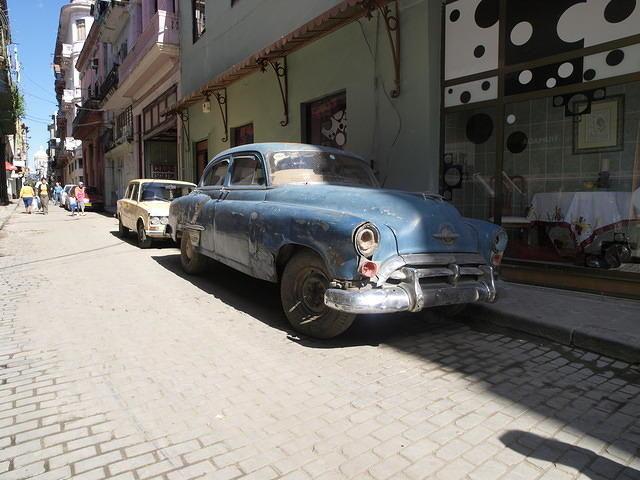 キューバ ハバナ アメ車 クラシックカー