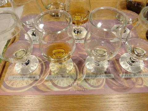 サントリー白州蒸留所ウイスキー匠の技講座テイスティング