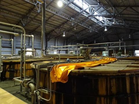 サントリー白州蒸留所醸造槽