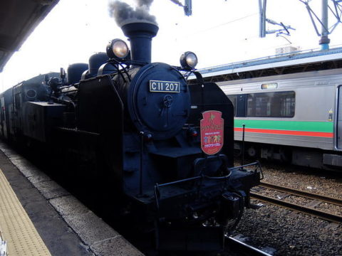 JR北海道 蒸気機関車C11 207