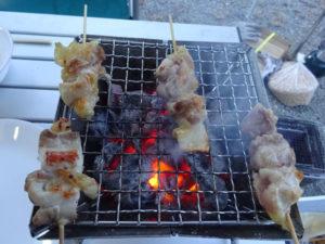 比内地鶏の焼き鳥