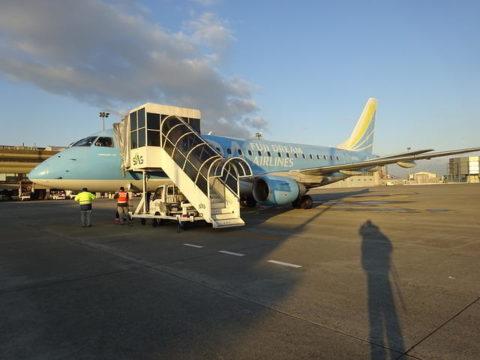 県営名古屋空港 エンブラエル170 FDA 2号機 JA02FJ