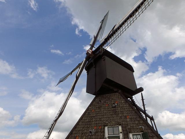オランダキンデルダイクの風車オリンパスTG-850 Tough