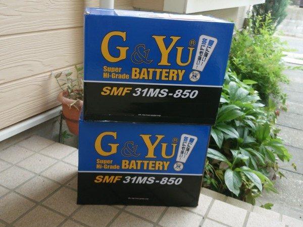G&Yu BATTERY ディープサイクルバッテリーSMF31MS-850