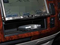 キャンピングカーに取り付けたETC MOBE-500