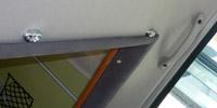 助手席用にLED照明を2個設置 孫市屋の砲弾タイプ4発入り。