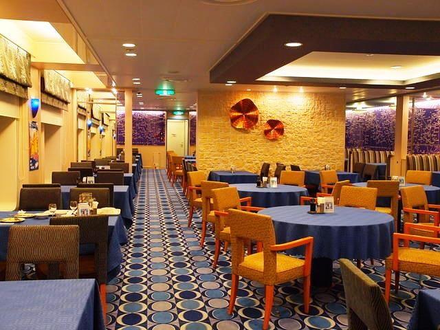 太平洋フェリーいしかりのレストラン