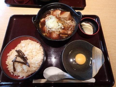 羽生PA 五鉄 軍鶏鍋