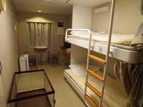 川崎近海汽船シルバーエイトの1等ペットルーム