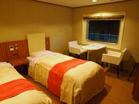 川崎近海汽船シルバーエイトの特等室
