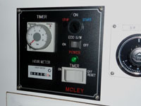 マックレーの発電機タイマーオフシステムの室内コントローラーの画像