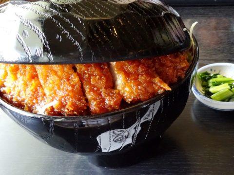 ボリューム満点駒ヶ根明治亭のソースかつ丼