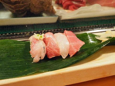 築地場内磯寿司マグロにぎり