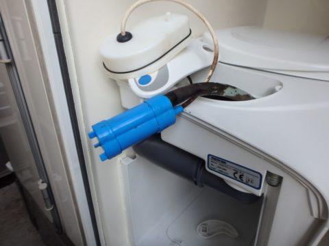 セットフォードカセットトイレのポンプ
