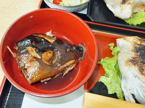垂水の「海の桜勘」カンパチのかぶと煮