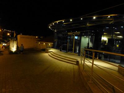 クロアチア、ドゥブロヴニクでの宿、Hotel Bellevuのエントランス