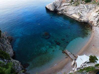 Dubrovnik Hotel Bellevueのレストランから見える景色