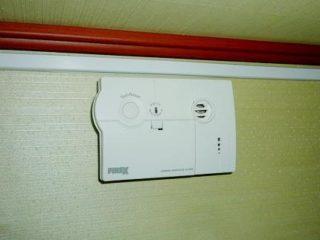 以前つけていた一酸化炭素警報器
