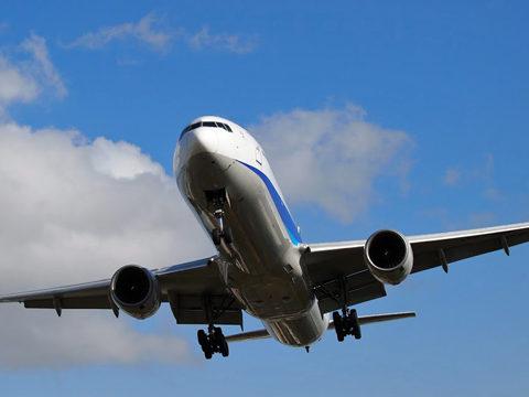 大阪伊丹空港で撮影したANA全日空B777-200