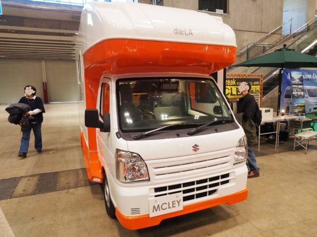 マックレー軽キャンピングカーディアラ・ジュニア