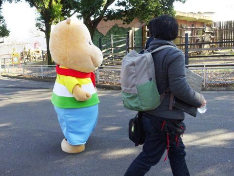 明治イソジンのキャラクター「カバくん」の東武動物公園で遭遇