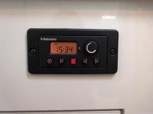 オプションで付けたが使っていないべバストFFヒーターのコンビネーションタイマー