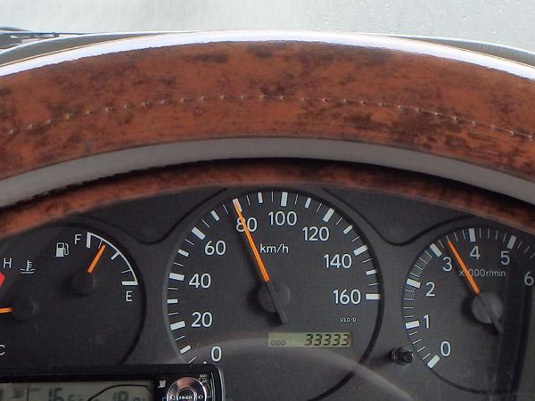 マックレーデイブレイク号が、納車6年目前に走行距離33333kmを達成