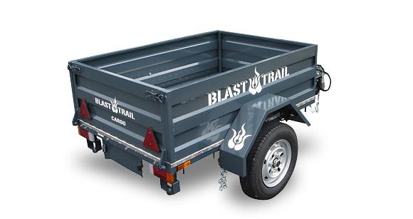 BRAST TRAILのカーゴトレーラーT-22の画像