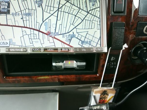 デイブレイクに取り付けたETC車載器