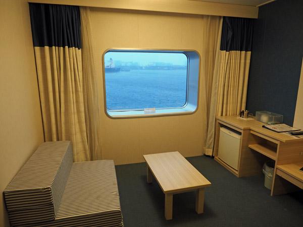 太平洋フェリーいしかり1等和洋室カーペット敷きの和室