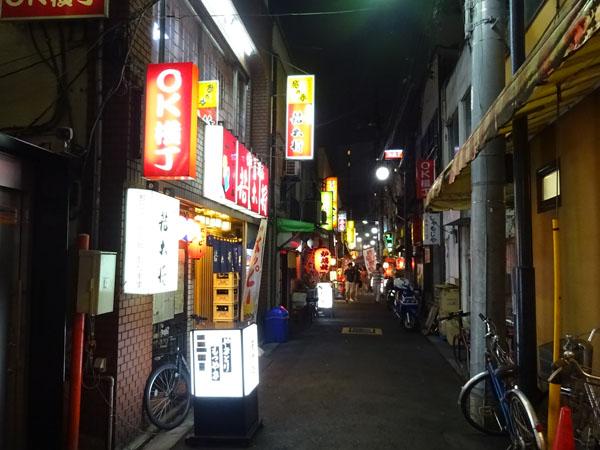 赤羽のOK横丁夜景