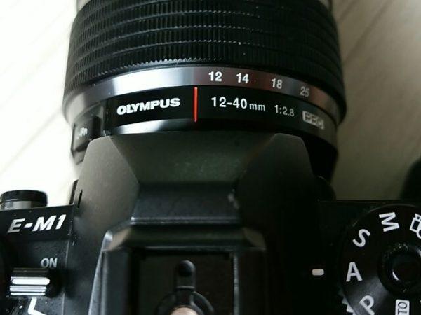 オリンパス12-40mmF2.8PROのズームレンズがおかしくなる