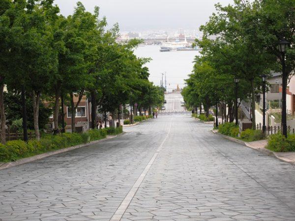 函館元町の八幡坂