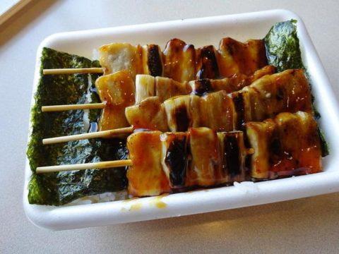 函館で食べたハセガワストアのやきとり丼