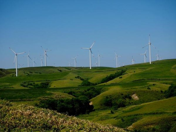 宗谷丘陵と風力発電