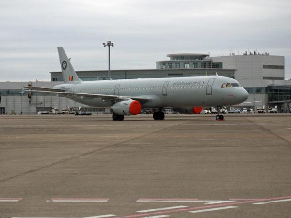 ベルギー空軍エアバスA321-200