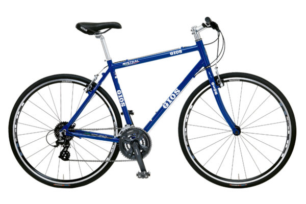 クロスバイク、ジオスミストラルの画像、カラーはジオス・ブルー