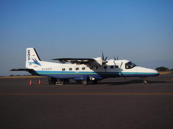新中央航空のドルニエ228の画像、調布空港にて