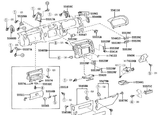 partsfan、パーツファンの部品図