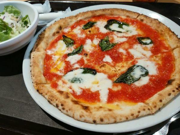 サルヴァトーレ クオモのピザ、マルゲリータ、刈谷ハイウェイオアシス