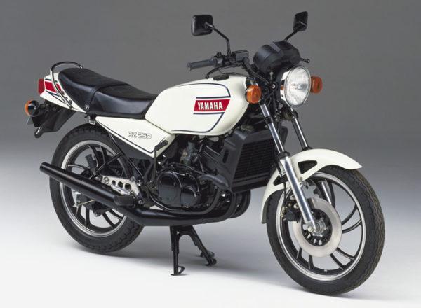 ヤマハの2stバイク、RZ250