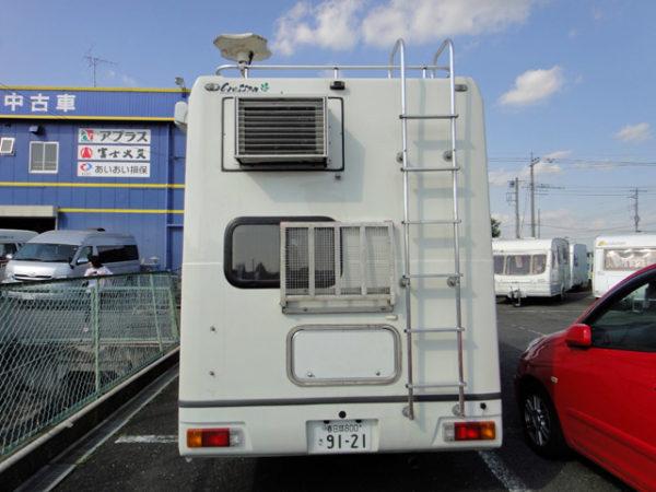 初代キャンピングカー、クレソンのリア画像。2010年売却時