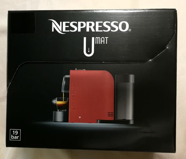 ネスレネスプレッソUの外箱