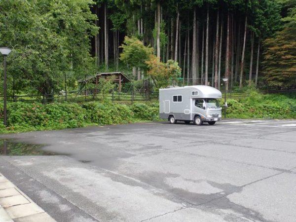 道の駅こすげ(山梨県小菅村)のRVパーク