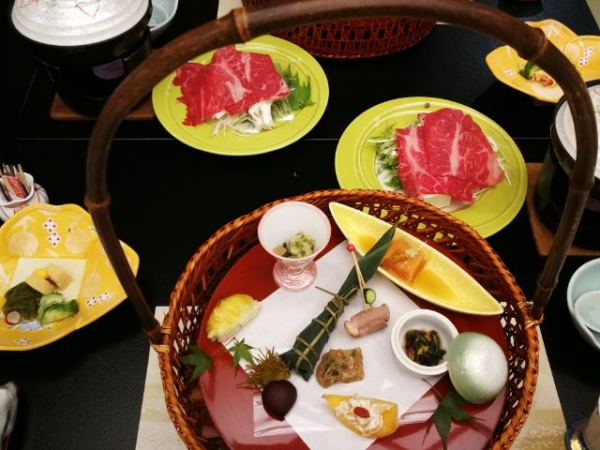 鬼怒川グランドホテル夢の季のディナー